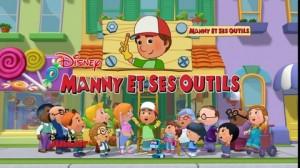Mannys et ses outils disney