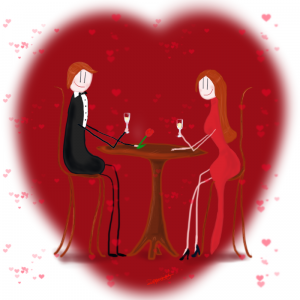 Saint valentin Blogs event