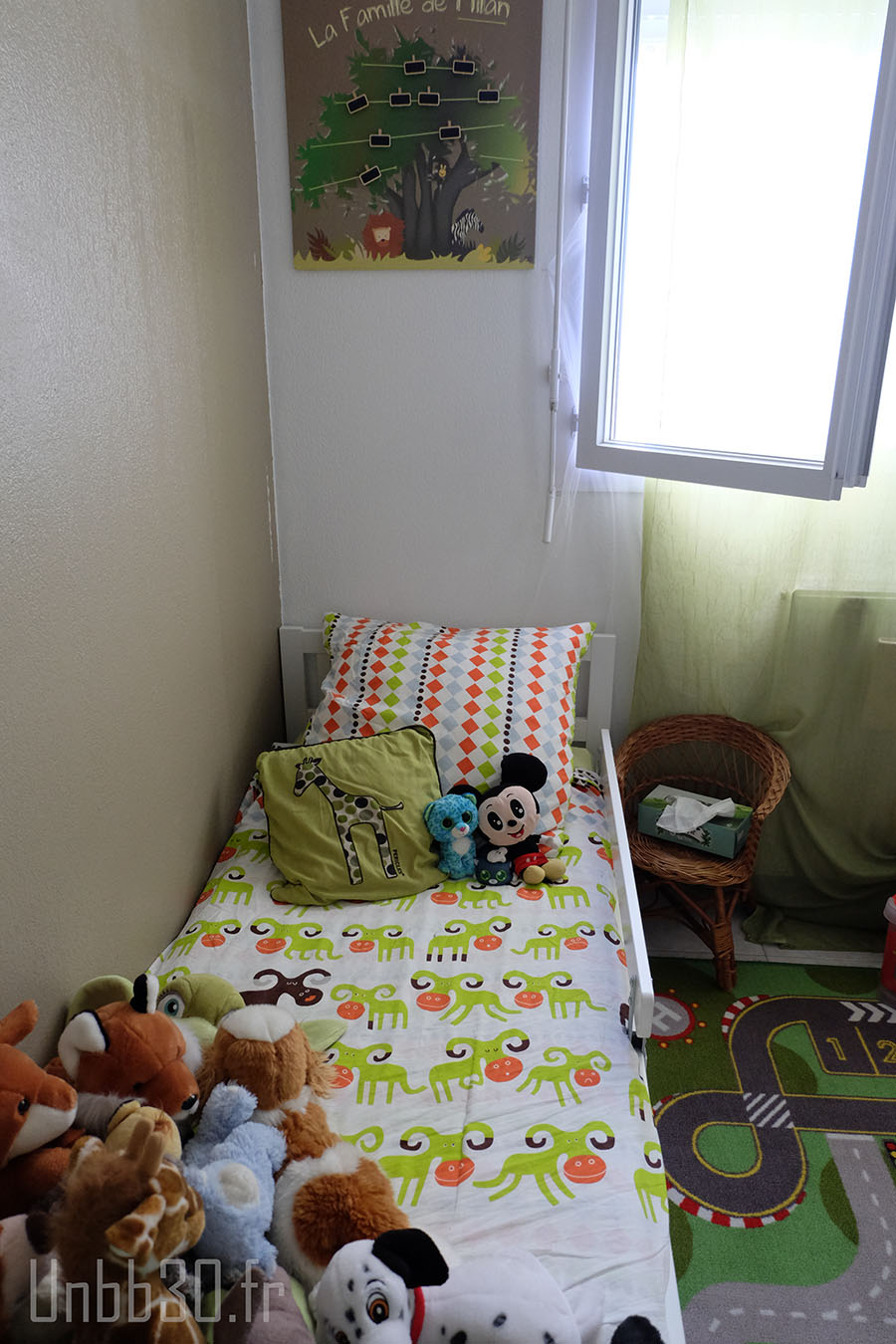 Best chambre enfant garon coin lit ika with chambre garon ikea for Ikea stickers chambre
