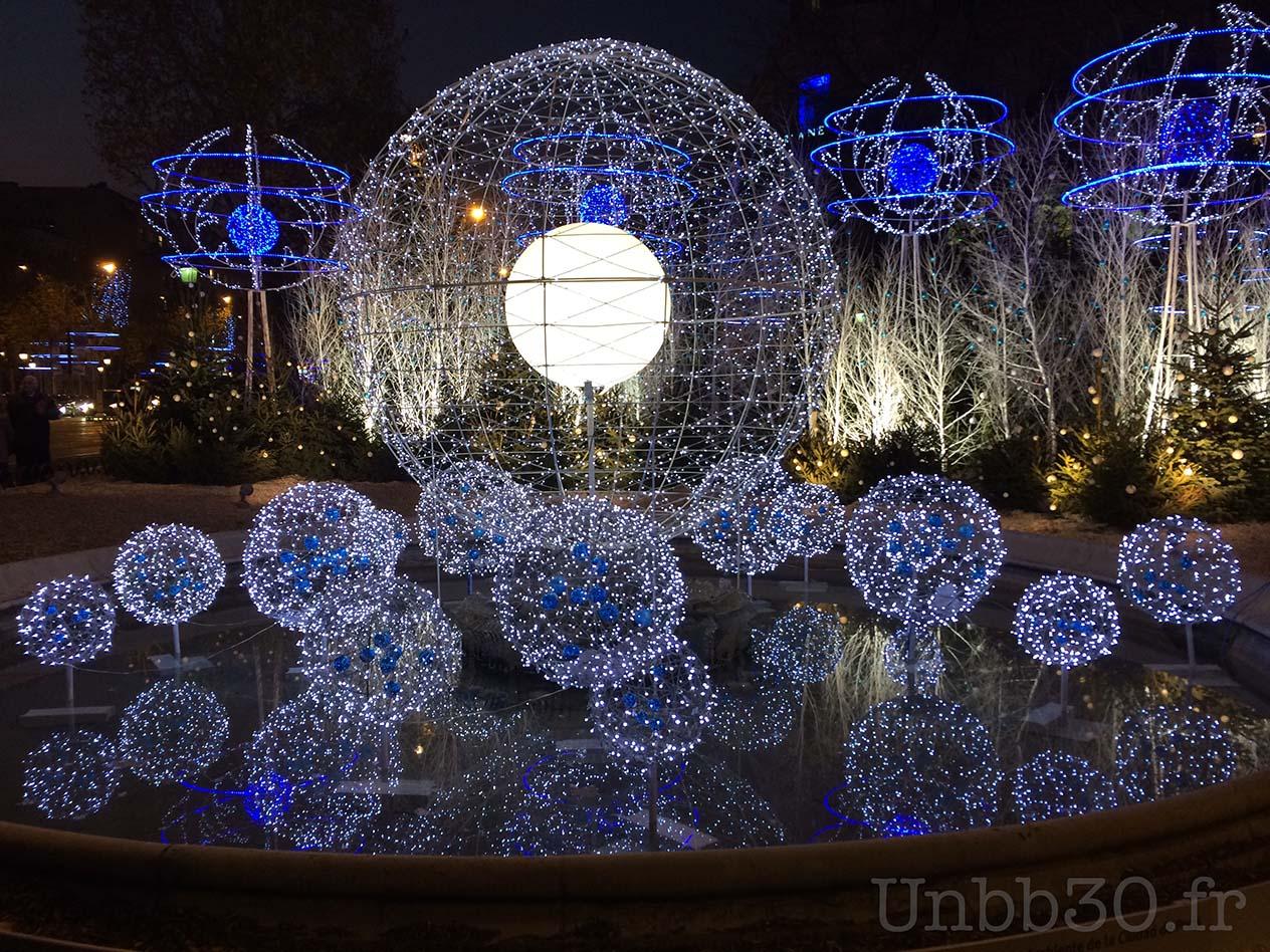 Paris illuminations de Noël