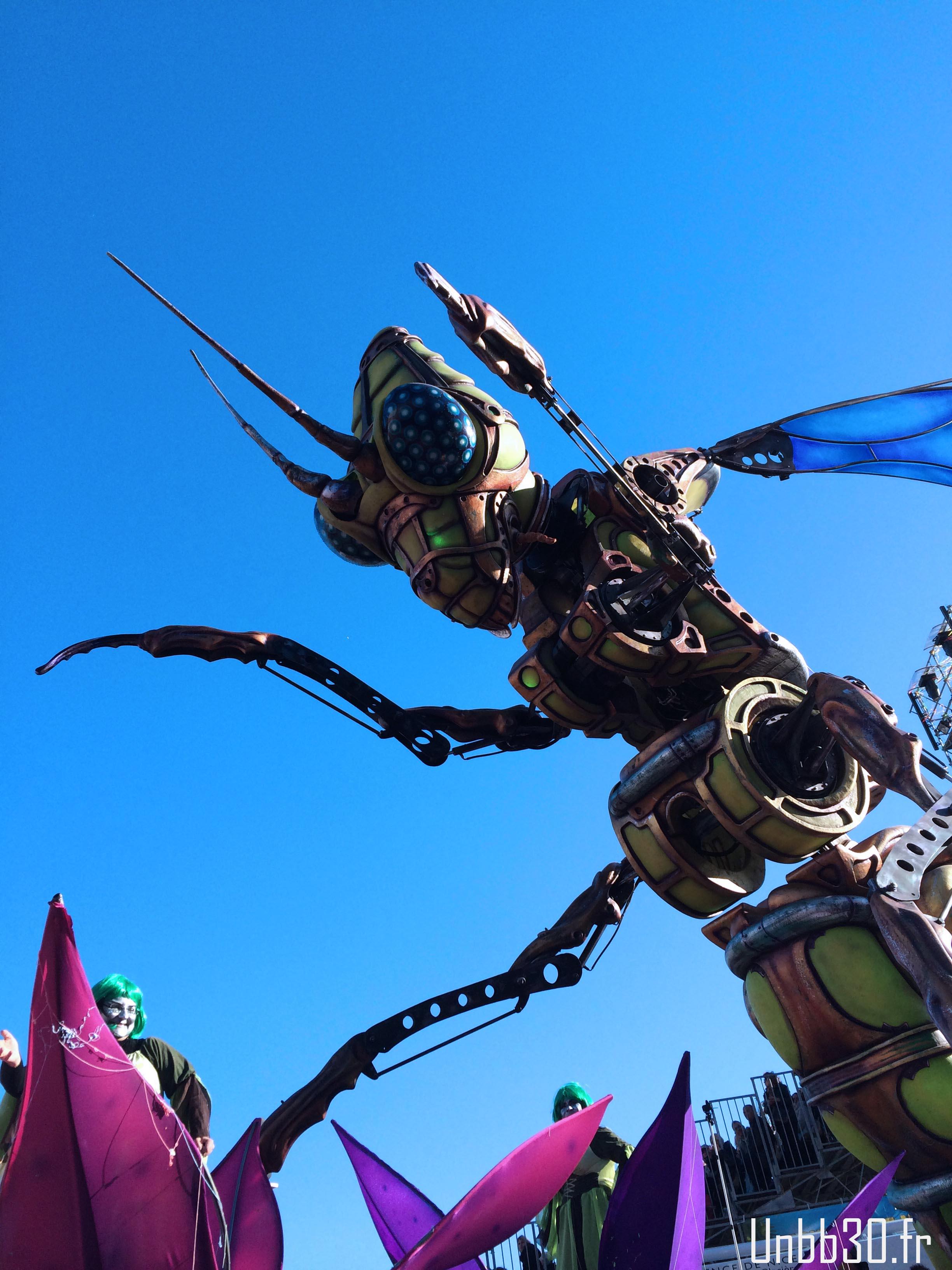 Insecte Carnaval de Nice