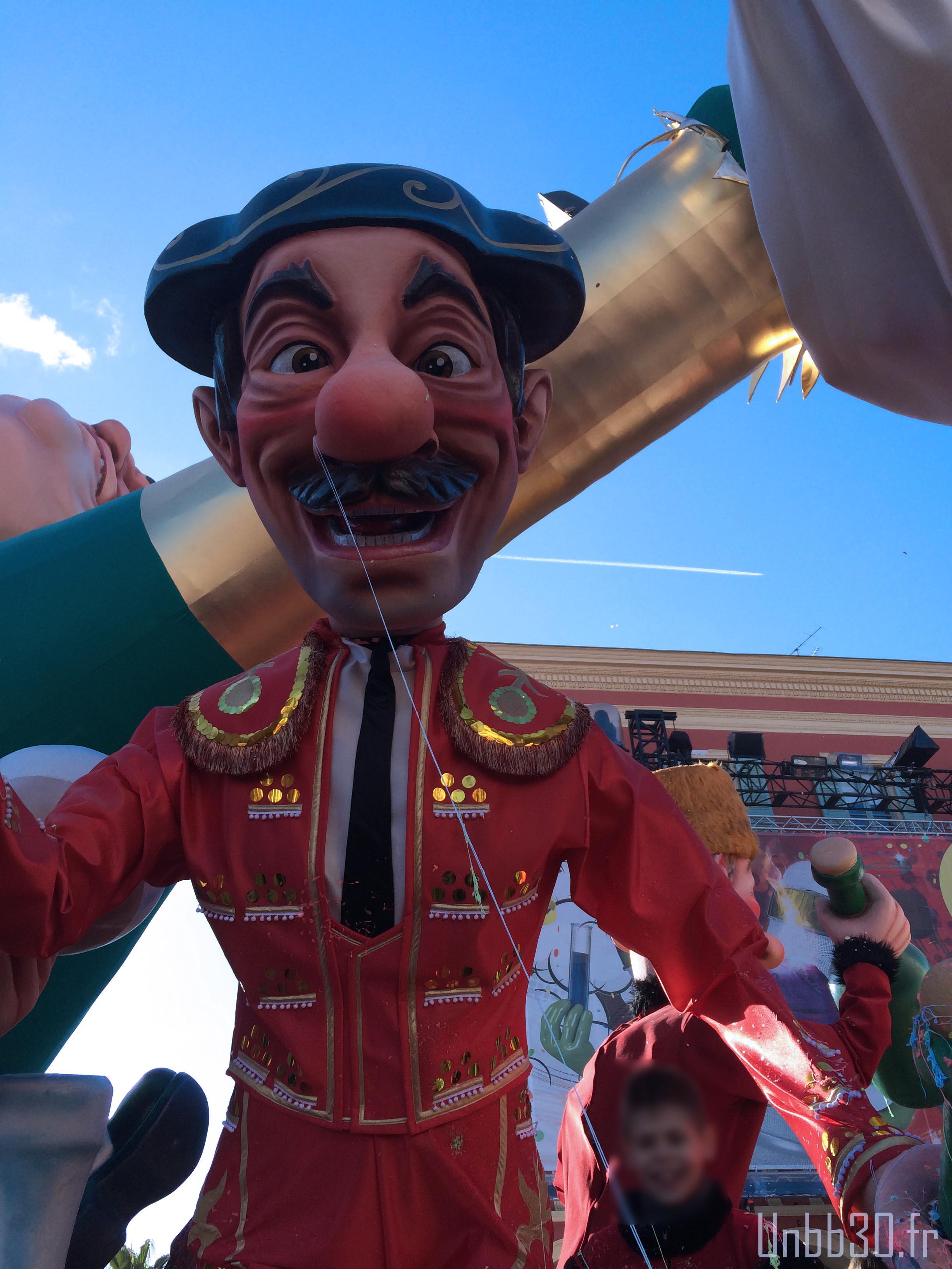 carnaval de Nice Grosse Tete