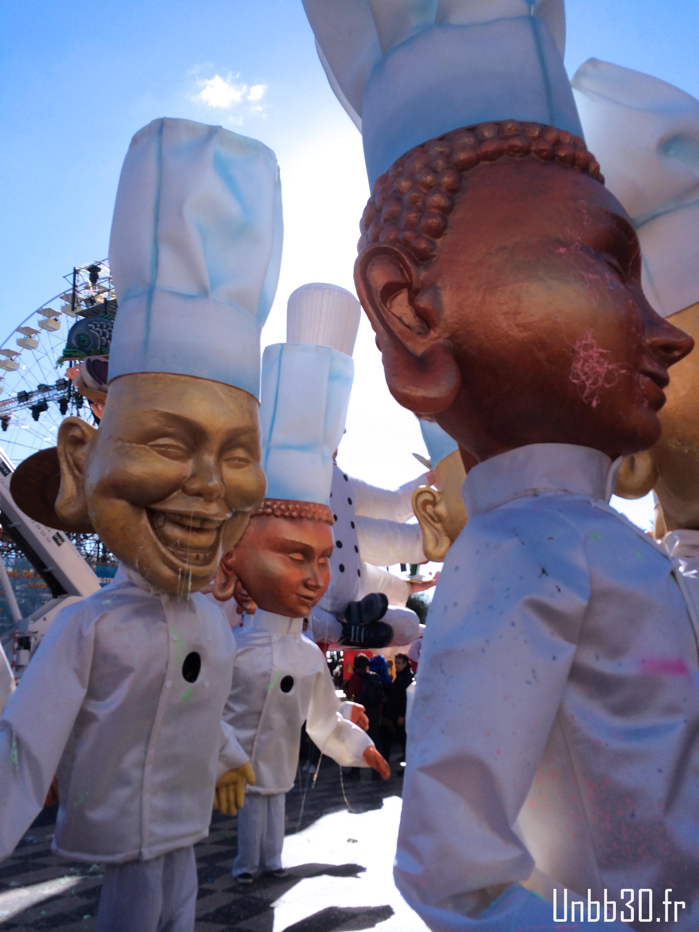 carnaval nice 2014 cuisinier