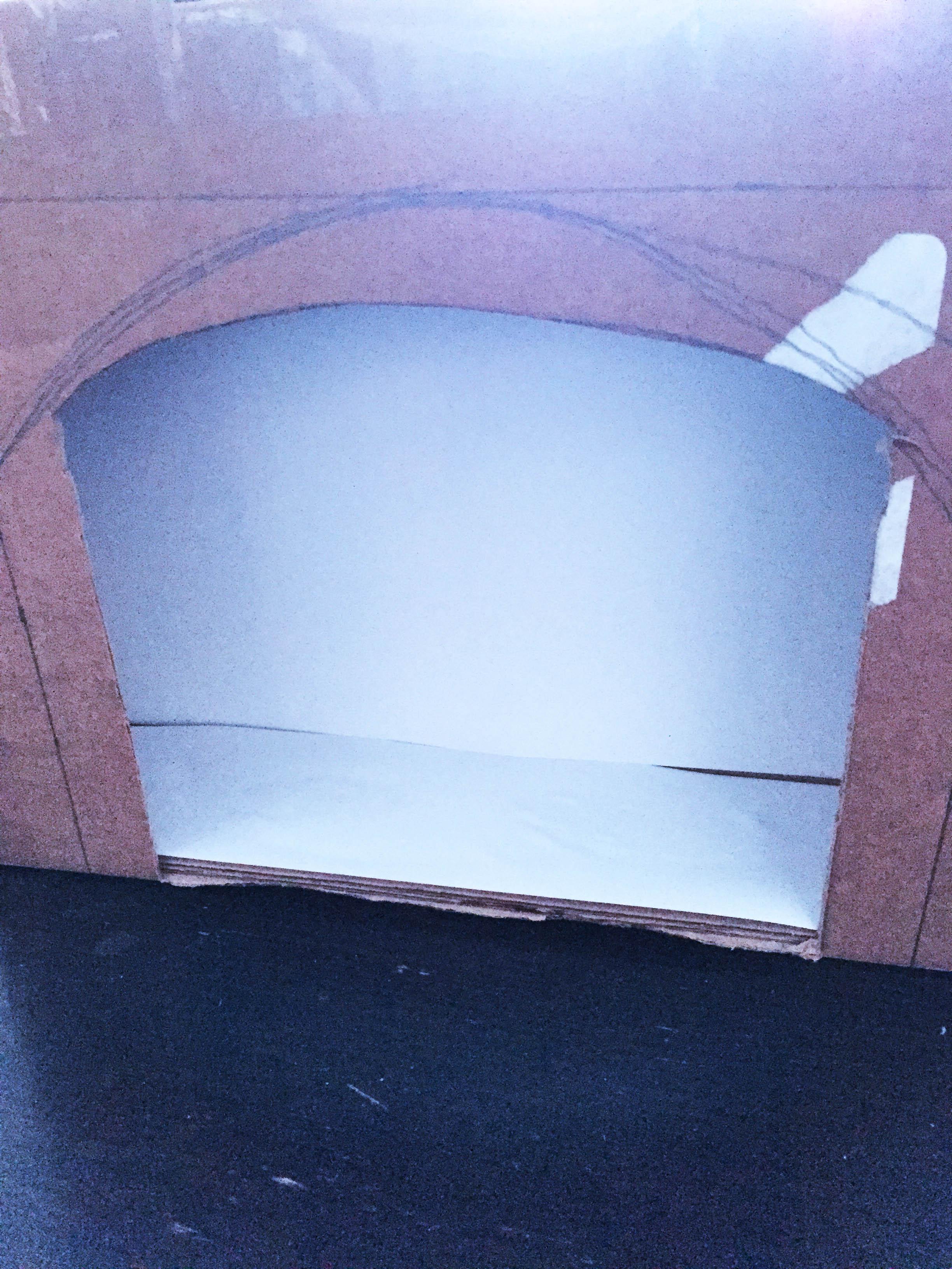 cheminée carton diy 2